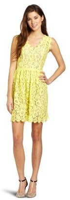 Madison Marcus Women's Magnetic Lace Woven Dress