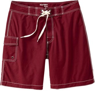 Old Navy Men's Cotton-Blend Board Shorts