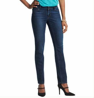 LOFT Tall Supreme Curvy Straight Leg Jeans in Debate Blue