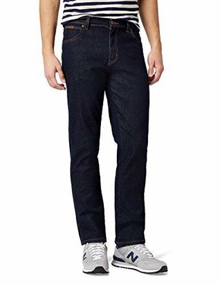 Wrangler Men's Texas Stretch Regular Fit Jeans, Dark Stone