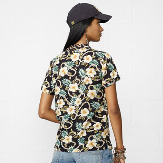 Denim & Supply Ralph Lauren Floral Kailua Camp Shirt
