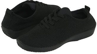 ARCOPEDICO LS (Black) Women's Lace up casual Shoes