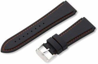 Hadley Roma Hadley-Roma Men's MS3345RAG240 24mm Genuine Silicone Diver Sport Watch Strap