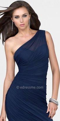 La Femme Sexy One Shoulder Cocktail Dresses