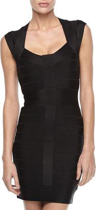 French Connection Spotlight Knit Dress, Black