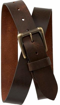 Old Navy Men's Brown Leather Belts