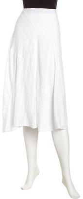 Isda & Co Bias Crinkled Skirt