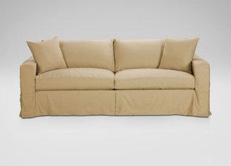 Ethan Allen Hudson Slipcovered Sofa