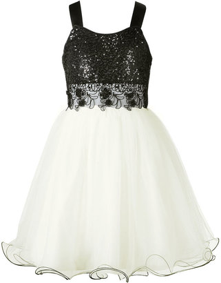 Bonnie Jean Girls Dress, Little Girls Sequin Tulle Dress
