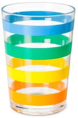 Plastic Tumblers 16oz Multi-colored - Set of 6