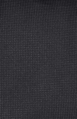 HUGO BOSS Woven Silk Tie Black Regular