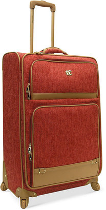 "Oleg Cassini Suitcase, 28"" Boutique Rolling Expandable Spinner Upright"