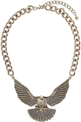 Topshop Chunky eagle necklace