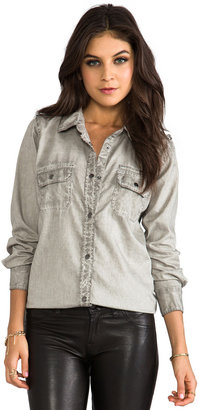 Rails Halle Antique Wash Denim Button Down
