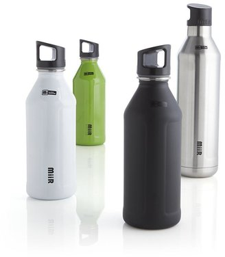 Crate & Barrel MiiR Classic 600 ml White Water Bottle