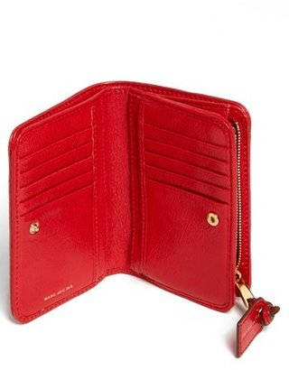 Marc Jacobs 'Wellington' Leather French Wallet