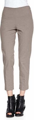 Brunello Cucinelli Cropped Stretch Cotton Pants