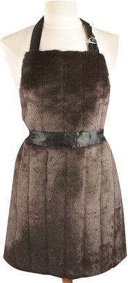 JCPenney Women's Faux-Fur Apron