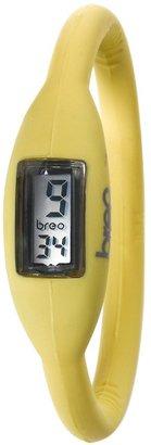 Breo Women's PU-BR10219 Sport Roam Small (16cm) Lemon Rubber Watch
