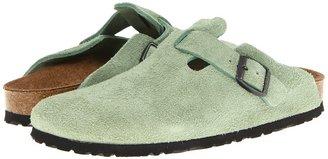 Birkenstock Boston (Dark Green) - Footwear