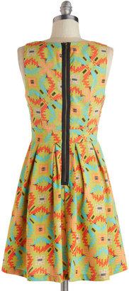 Bold Horizon Dress