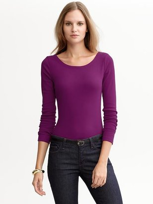 Banana Republic Long-sleeve timeless tee