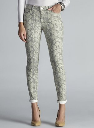 Else Snakeskin Print Skinny Jeans