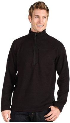 The North Face Gordon Lyons 1/4 Zip Pullover (TNF Black Heather) - Apparel