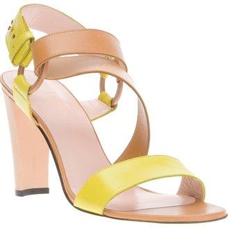 Stuart Weitzman 'Yelp' bi-colour sandal