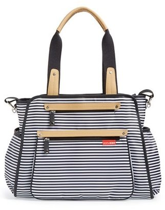 Infant Skip Hop 'Grand Central' Diaper Bag - Black $90 thestylecure.com