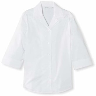 "Trutex Girl's 3/4 Sleeve Rever Blouse,(Manufacturer Size: 44"" Chest)"