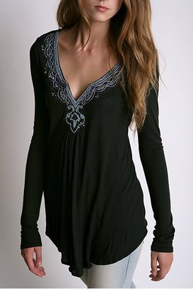Urban Outfitters Kimchi Blue Beaded Tunic