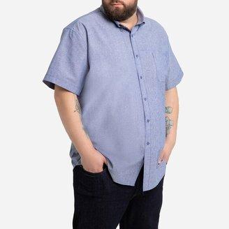 La Redoute Collections Plus Plain Short-Sleeved Shirt