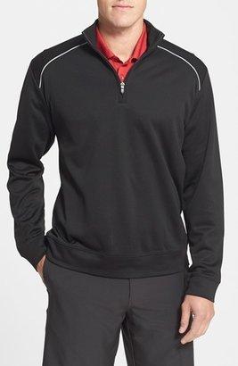 Cutter & Buck 'WeatherTec Ridge' Water Repellant Half Zip Jacket (Big & Tall) $108 thestylecure.com