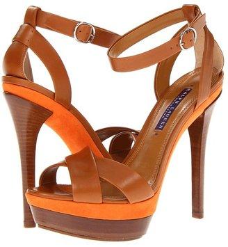 Ralph Lauren Joelle (RL Gold/Orange) - Footwear
