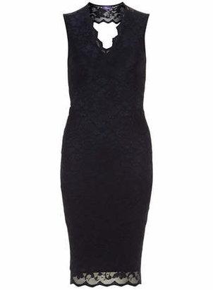 Amy Childs 'Juliana' Scalloped lace dress