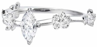 Marquis Kataoka Diamond Solitaire Ring - White Gold