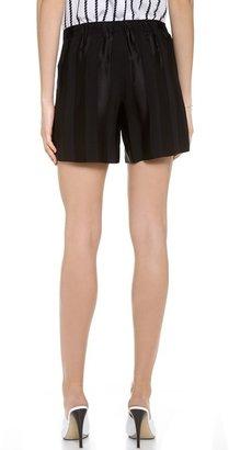 Theyskens' Theory Puxi Shorts