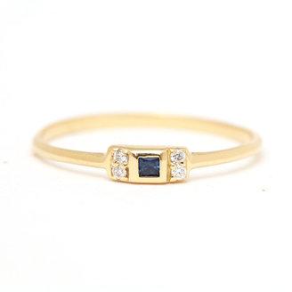 Margaret Elizabeth - Sapphire Vivian Ring