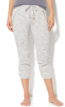 New York & Co. Love, NY&C Collection - Slim Slouch Crop Pant - Jaspe
