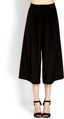 Forever 21 Classic Pleated Culottes