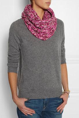 Marc by Marc Jacobs My Boyfriend chunky-knit merino wool snood
