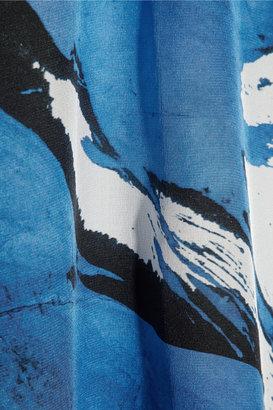 Maja Preen by Thornton Bregazzi printed silk crepe de chine dress
