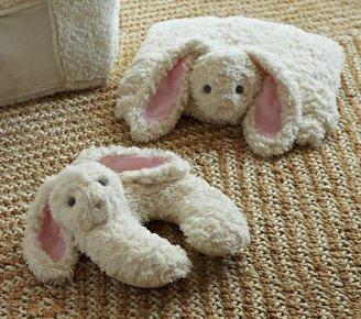 Pottery Barn Kids Bunny Plush Neck Pillow