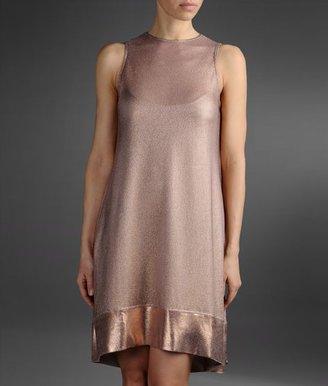 Emporio Armani Light Knit Dress With Lamé Effect