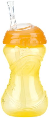Nuby CLICK-IT No-Spill Flexi-Straw Gripper Cup - Girl - 10 oz