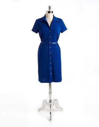 Anne Klein Belted Shirtdress