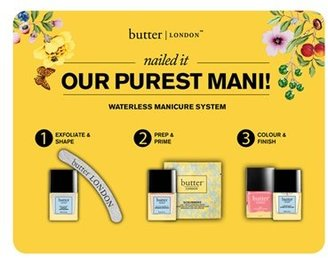 Butter London 'Scrubbers' Nail Polish Remover