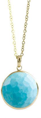 Ippolita Turquoise Lollipop-Pendant Necklace