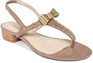 Adrienne Vittadini Velda Flat Sandals